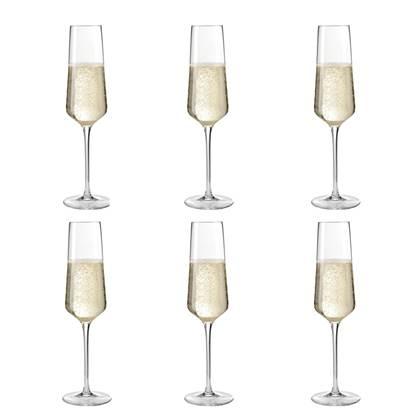 Leonardo Puccini Champagneglazen 0.28 L - 6 st.