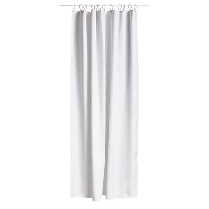Zone Lux Shower Curtain White (352030)