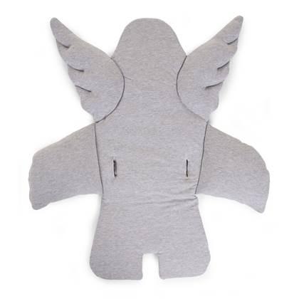 Stoelkussen engel grijs