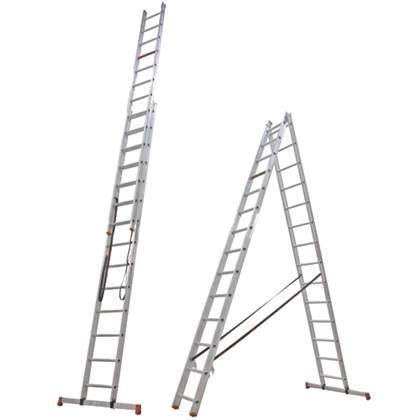 Altrex All Round 2-delige reformladder AR 2065 2 x 14 (per stuk)