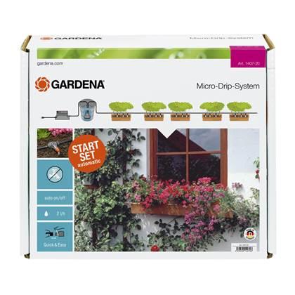 Gardena MicroDrip Volautomatische bloembakbesproeiing