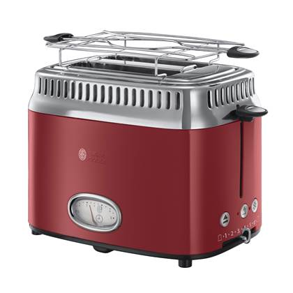 Russell Hobbs Retro Ribbon Red Broodrooster