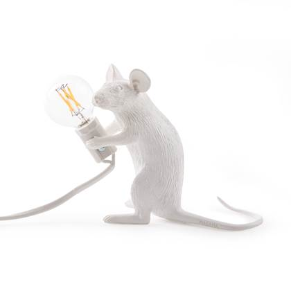 Seletti Mouse Lampresin Sitting
