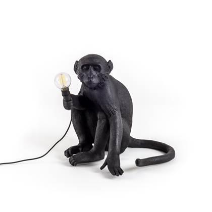 Seletti Monkey Outdoor Lampresin Sitting