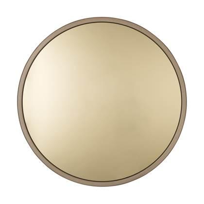 Zuiver Bandit Spiegel Metaal Ø60 x 5 cm Goud