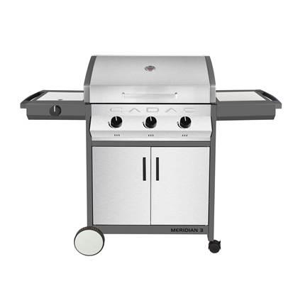 Cadac Meridian Stainless Steel 3 side burner