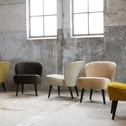 WOOOD Fauteuil Sara boucle creme kopen? fauteuils | Karwei
