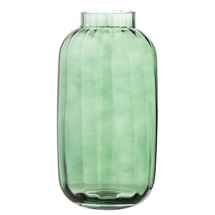 Bloomingville Green Glass Vaas