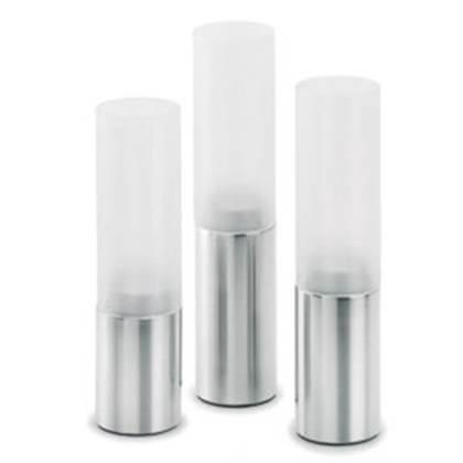 Blomus Faro Windlicht Glas Set van 3 Mat