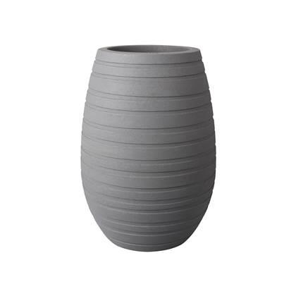 Elho Allure Ribbon Vase Bloempot 43 cm Grijs