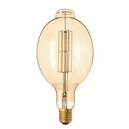 Calex Giant Colosseum LED filament goud 11W (vervangt 100W) extra grote fitting E40
