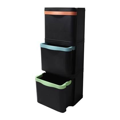 duurzaam product: BinBang Afvalbak 87 Liter (3x29 L)