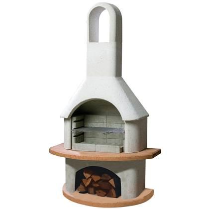 Buschbeck Carmen Tuinhaard Barbecue B 110 x H 203 cm