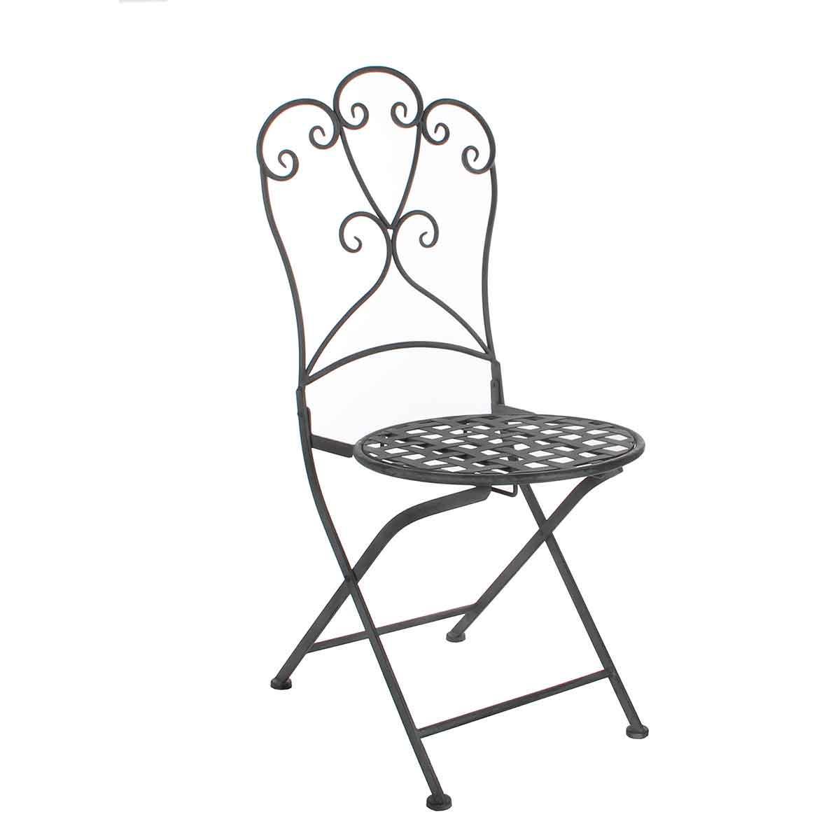 FonQ-Greenware stoel sara maat in cm: 39 x 39 x 92.5 grijs-aanbieding