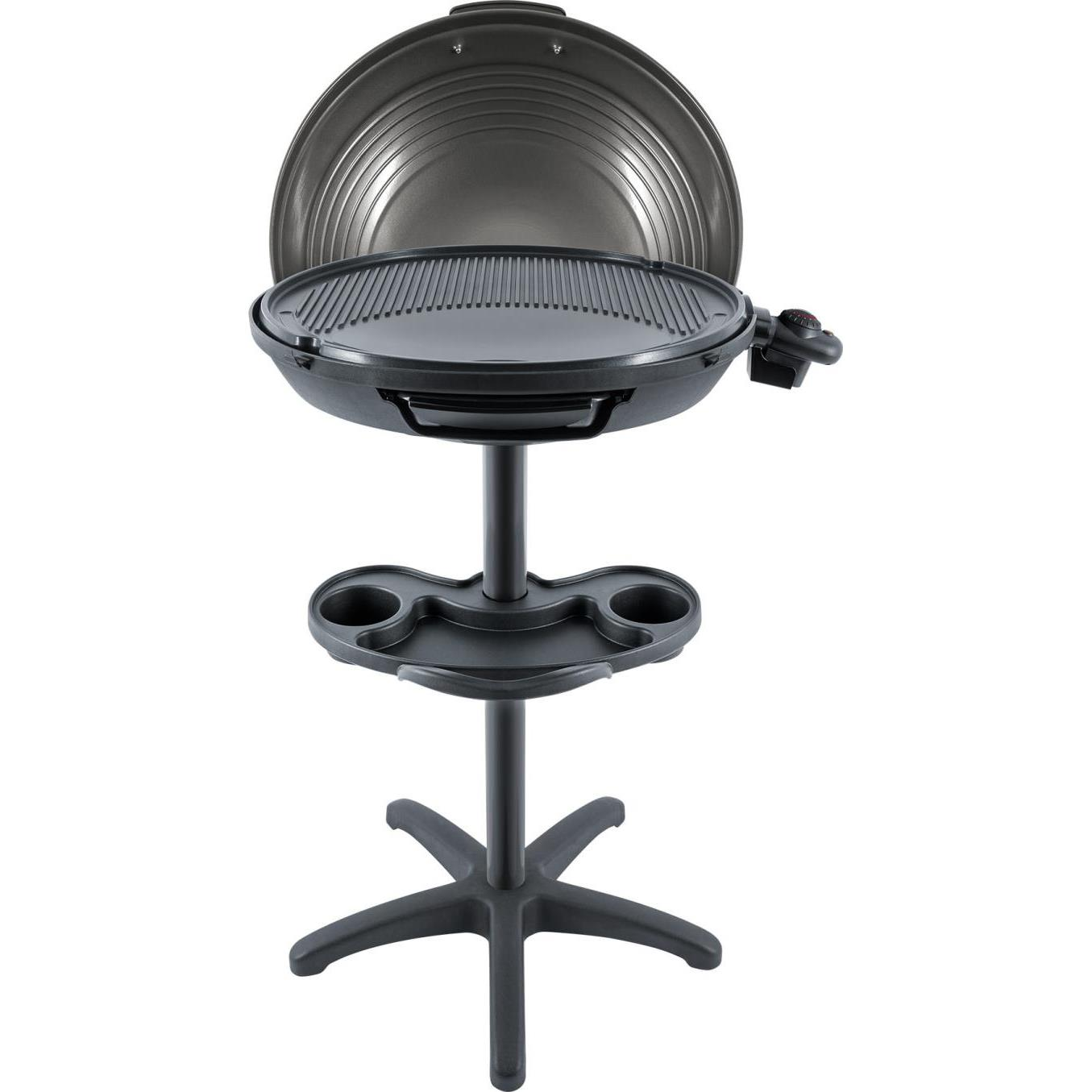 FonQ-Steba VG325 - Elektrische Barbecue - Op statief - 48 cm - Zwart-aanbieding