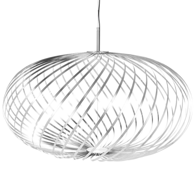 FonQ-Tom Dixon Spring medium hanglamp LED Zilver-aanbieding
