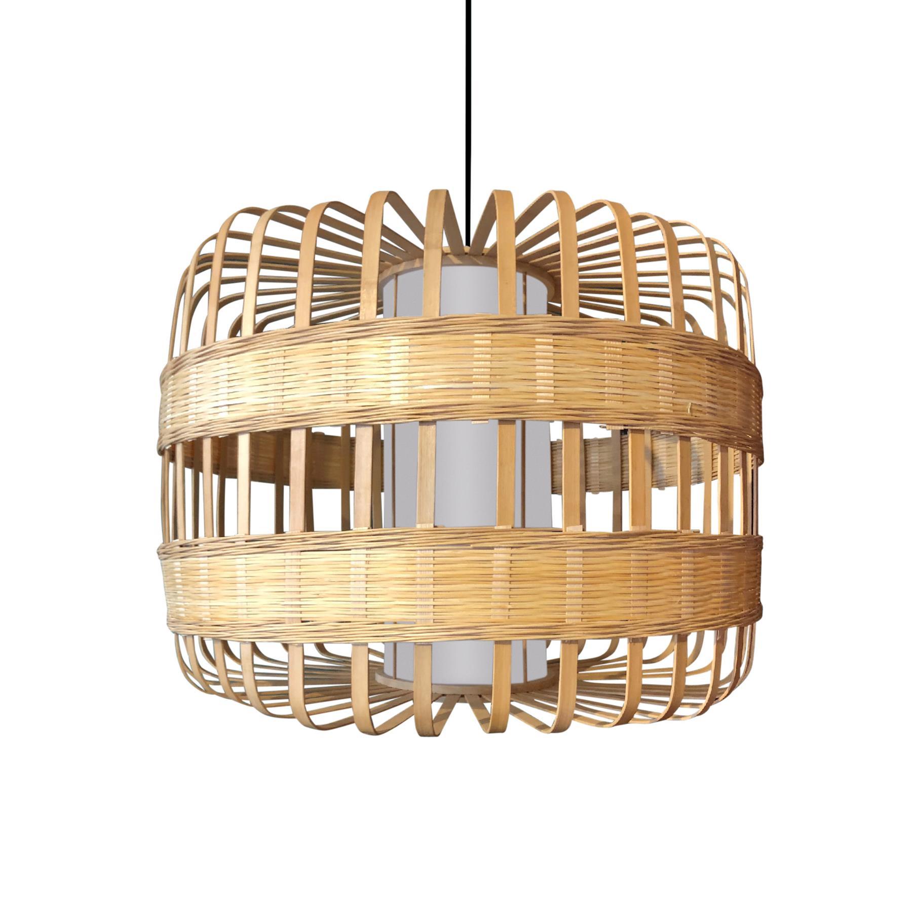 FonQ-Fine Asianliving Bamboe Hanglamp Handgemaakt - Belinda-aanbieding