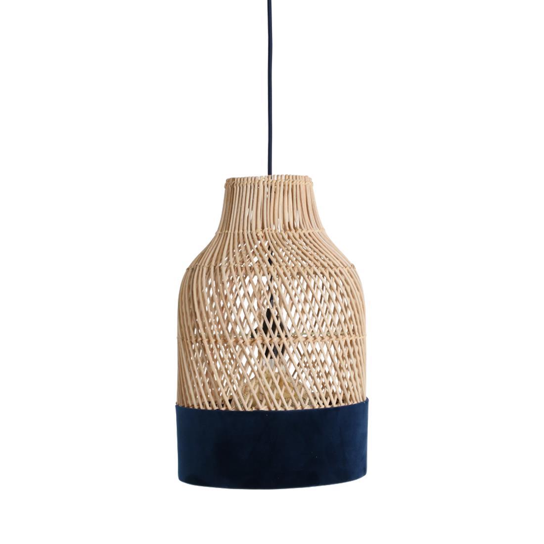 FonQ-Raw Materials Suave Hanglamp Blauw-aanbieding