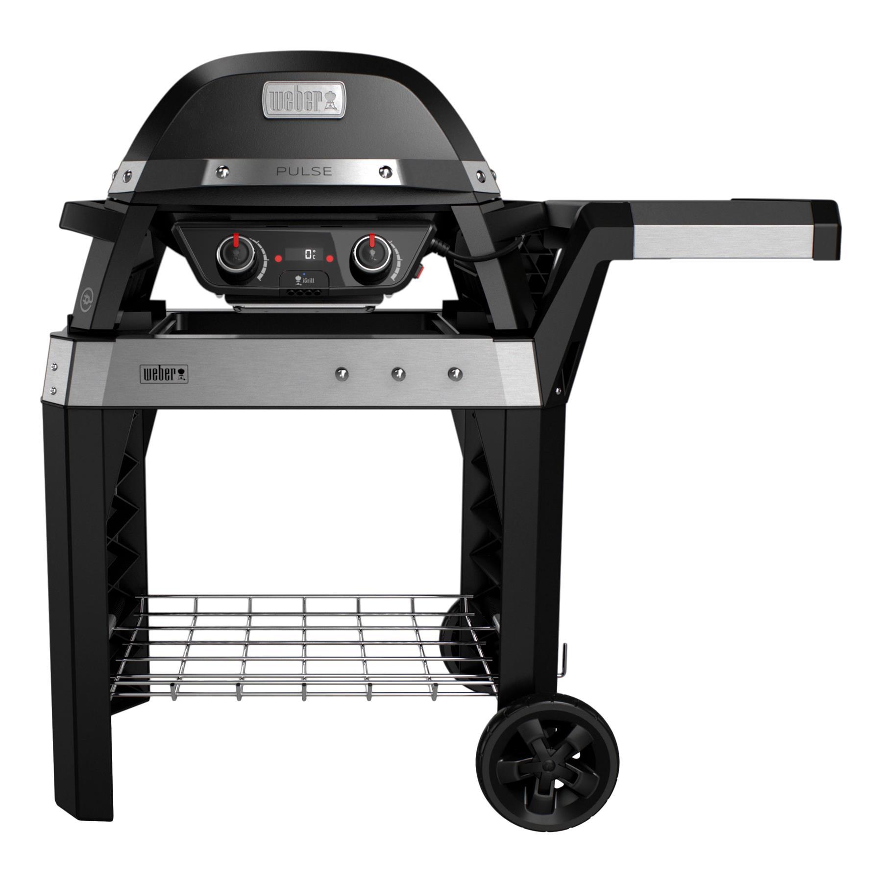 FonQ-Weber Pulse 2000 Met Stand Elektrische barbecue B 112 x D 76 cm-aanbieding