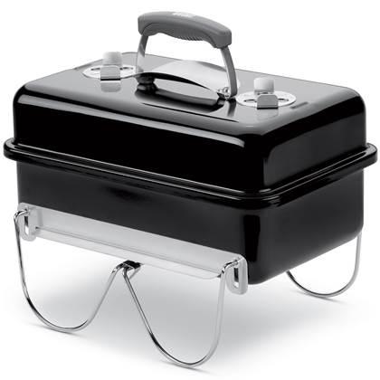De Feestdagen | De naam van deze houtskoolbarbecue spreekt voor zich! Go Anywhere en geniet van een heerlijke barbecue. Super compact, lichtgewicht en met stevige handgreep neem je de BBQ overal mee naar toe en geniet je van heerlijk gegrilld vlees!