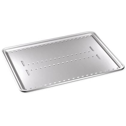 De Feestdagen | Deze opvangschaal kan perfect gebruikt worden onder een verhoogd grillrooster. De schaal vangt niet alleen het vet op, maar maakt ook indirect grillen mogelijk. De verpakking bevat vier opvangschalen.