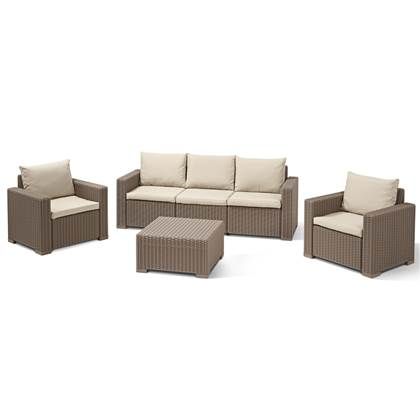 Allibert California 3-zits Loungeset