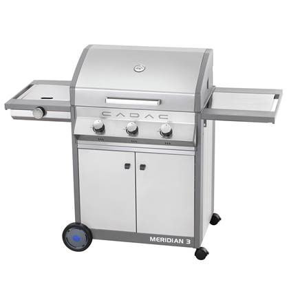 Cadac Meridian Stainless Steel 3 side burner