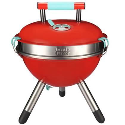 De Feestdagen | Trendy, licht en duurzaam: Dat is de Jamie Oliver Park bbq. Deze compacte houtskoolbarbecue is voorzien van een ruim grilloppervlak en is zeer eenvoudig mee te nemen. Dankzij de stevige materialen is deze barbecue onverwoestbaar!