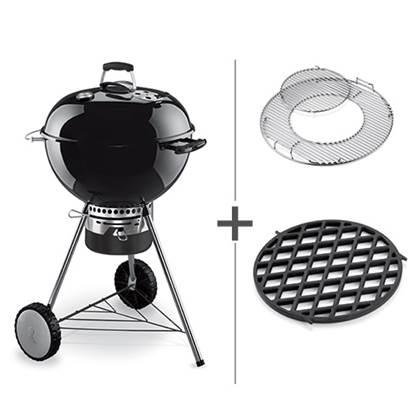 De Feestdagen | De Weber Master Touch Complete is een zeer complete barbecue. De barbecue heeft een groot GBS grillrooster, luxe handgrepen, dekselhouder met windschild en een thermometer. Deze exclusieve uitvoering wordt geleverd inclusief searing rooster!