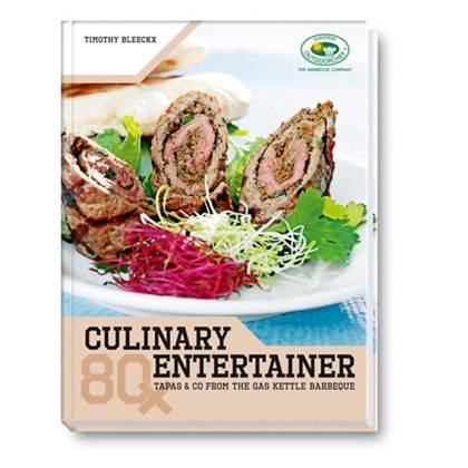 De Feestdagen | Wordt zelf een echte buitenkok, met het culinary entertainer kookboek van OutdoorChef. Dit boek bevat 80 barbecuerecepten van timothy bleeckx, die bereid worden met verse ingrediënten. Alle recepten zijn individueel en naar eigen keuze te combineren