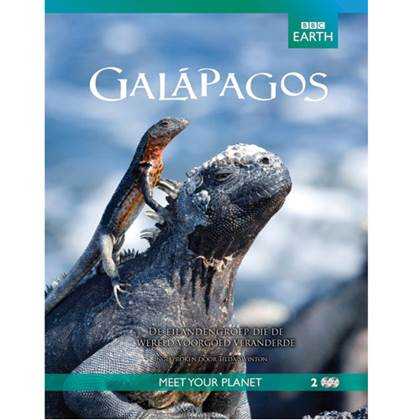 BBC Earth: Galapagos DVD