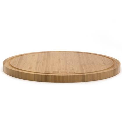 De Feestdagen | Presenteer uw gerechten van de Cobb Barbeque voortaan stijvol. De Cobb Snijplank van bamboe heeft een ingefreesde rand, waarin het Cobb barbeque deksel past. Deze snijplank is ook te gebruik voor het serveren van vlees of gerechten.