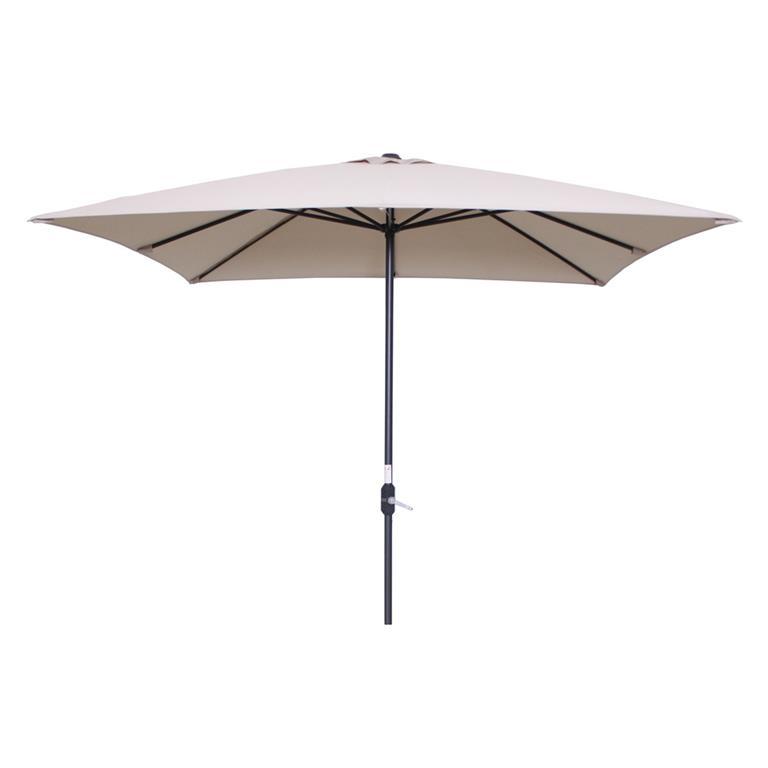 FonQ-Garden Impressions Lotus parasol 250x250 - ecru-aanbieding