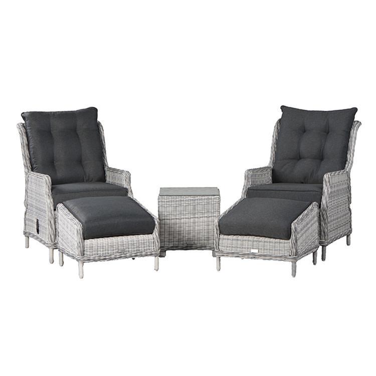 FonQ-Garden Impressions Santa Rosa relax stoelen grijs-aanbieding