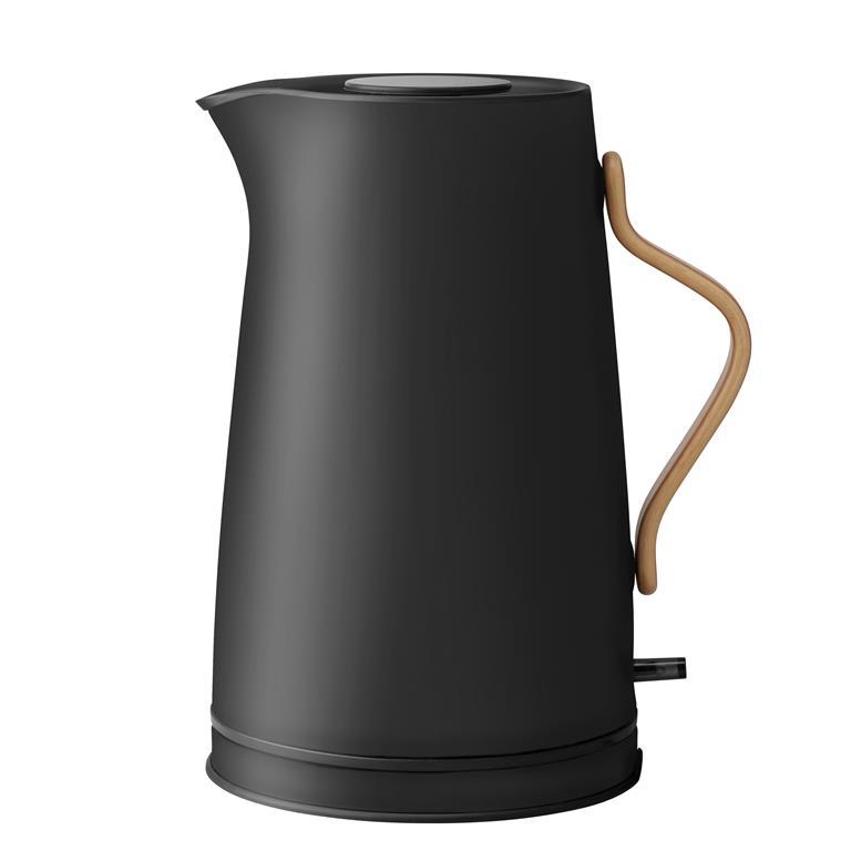 FonQ-Stelton Emma Waterkoker 1,2 L - Mat zwart-aanbieding