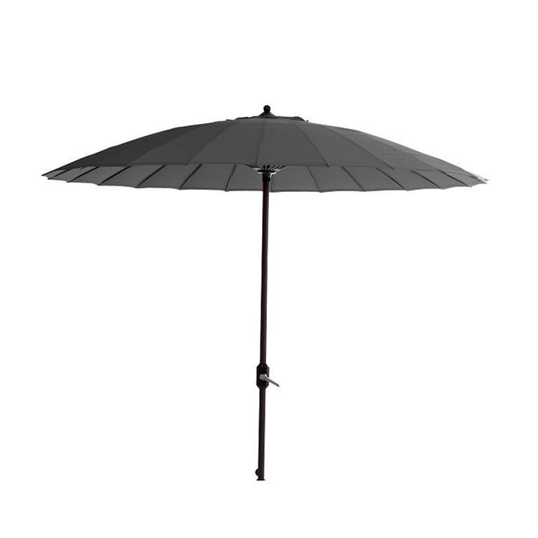 FonQ-Garden Impressions Parasol Manilla 250 cm - donker grijs-aanbieding