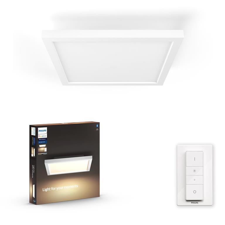 FonQ-Philips Hue Aurelle Plafondlamp - incl. dimmer switch-aanbieding