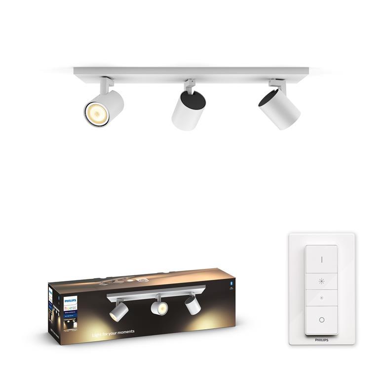 FonQ-Philips Hue Runner Opbouwspot - incl. dimmer switch-aanbieding