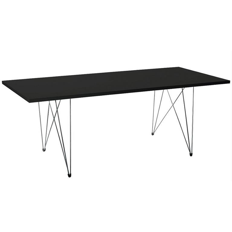 FonQ-Magis Tavolo XZ3 tafel rechthoek zwart 200x90-aanbieding