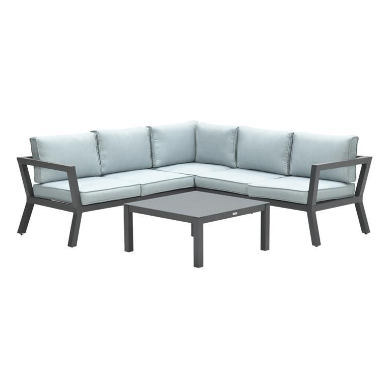 FonQ-Calgary aluminium loungeset - Mint-aanbieding